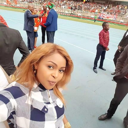 DJ Mo and Size 8 respond after Kenyans attack the gospel singer during Uhuru's swearing-in