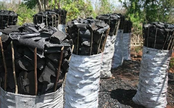 Kenya Police lorry nubbed fereying charcoal despite government ban on tree cutting