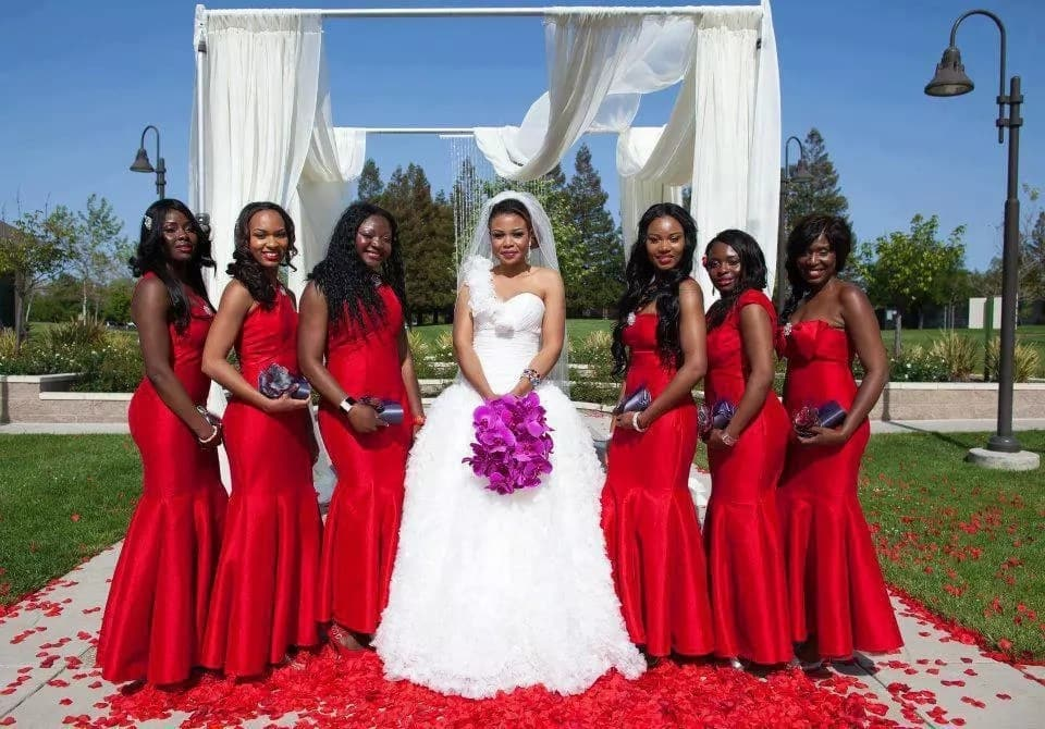 4d7e27309bd African Bridesmaid Dresses  Hottest Trends in 2018 ▷ Tuko.co.ke
