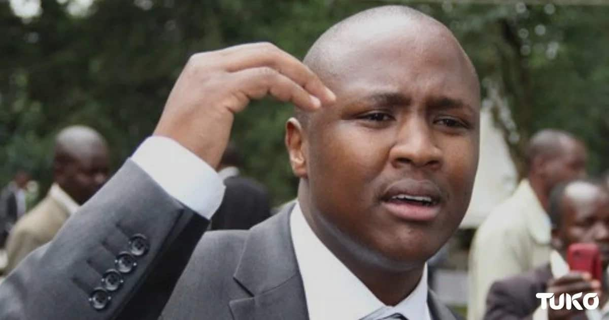 Jubilee MP blames Uhuru for the dramatic arrest of MP Charles Keter