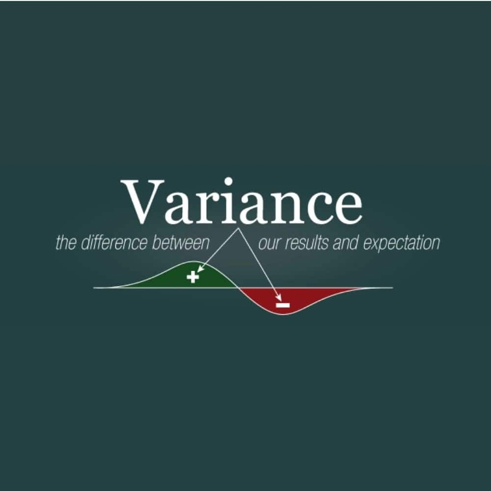 how to calculate variance  calculating variance calculate variance in exucel