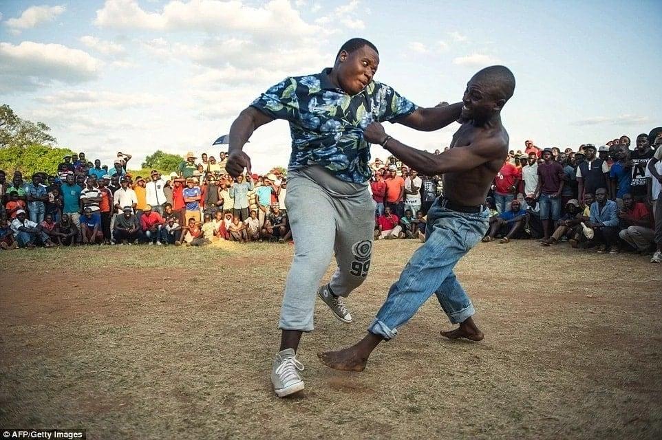 Jamaa wawili watwangana waking'ang'ania kipusa mengi kwenye ploti