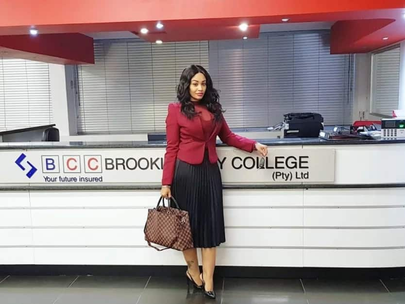 Photos of Zari handing out diplomas in her South African college proves she is a real boss lady