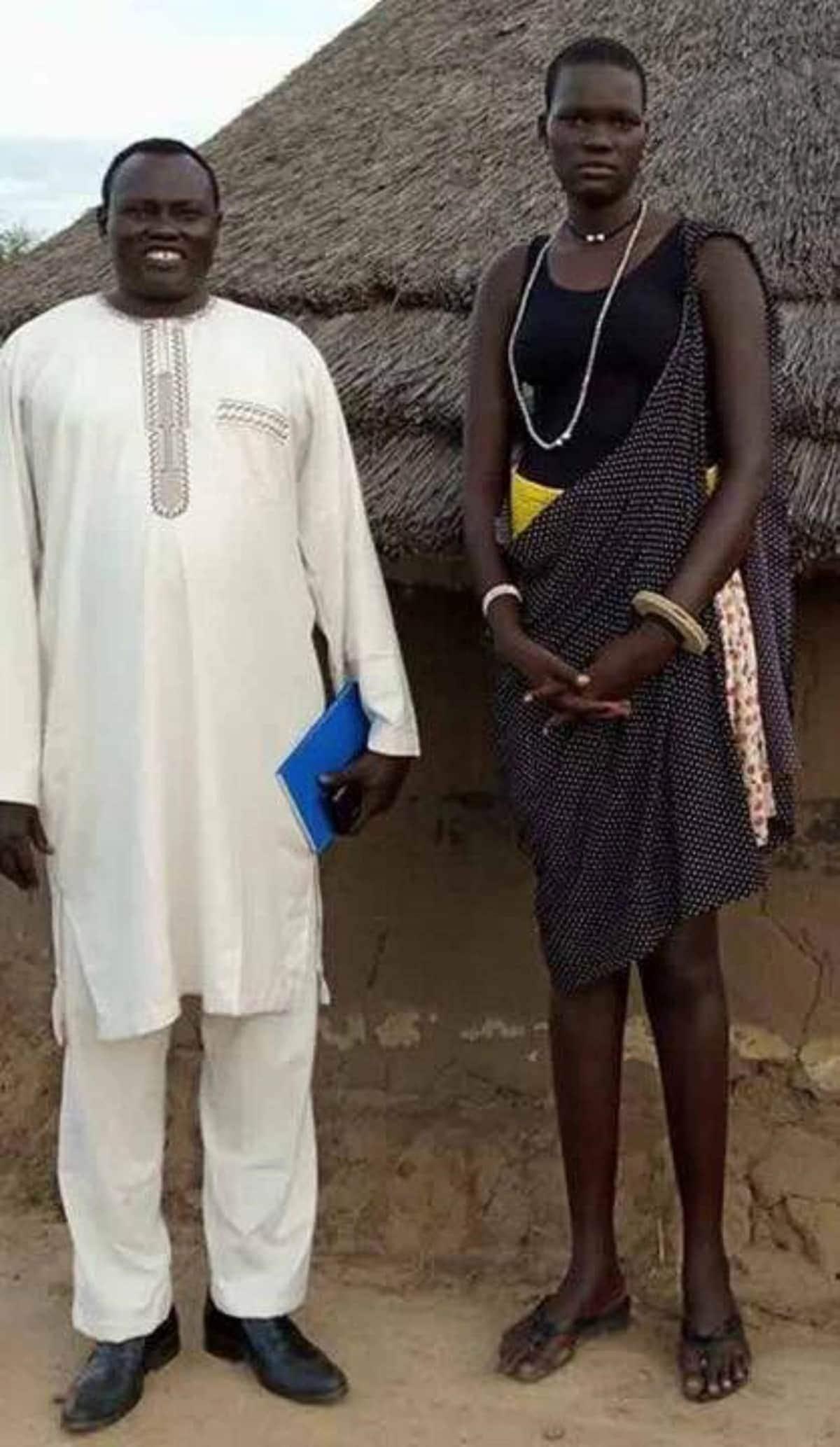 Mrembo wa Sudan Kusini ambaye mahari yake ni ng'ombe 520 na magari 3