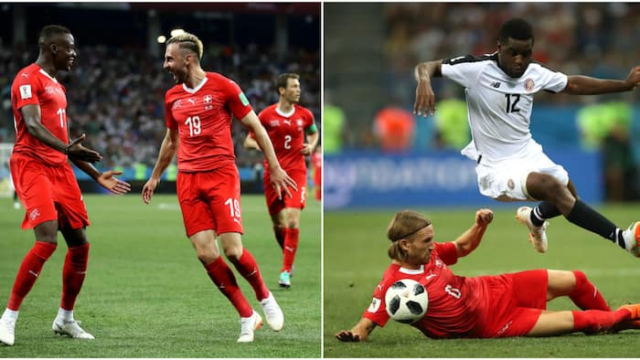 Switzerland cruise to Russia 2018 knock out stage despite being held 2-2 by bold Costa Rica