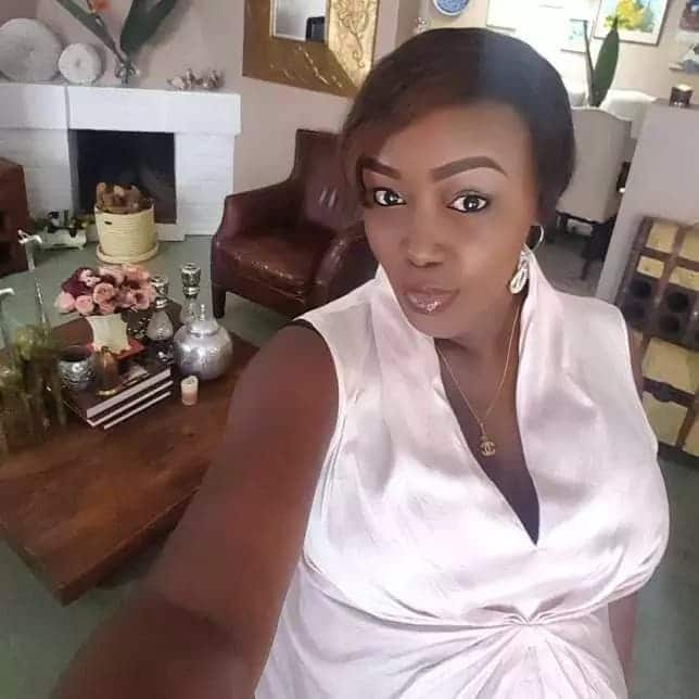 Terryanne Chebet celebrates Caroline Mutoko for inspiring and supporting her over the years