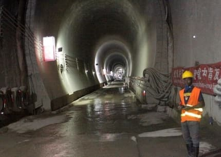 East Africa's longest railway tunnel constructed by Chinese engineers in Ngong