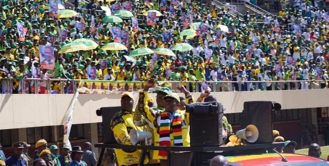 Zimbabwe's ruling party ZANU-PF claims majority seats in parliamentary polls