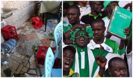 Rowdy Gor Mahia fans destroy restaurant in Kisumu after refusing to pay bill