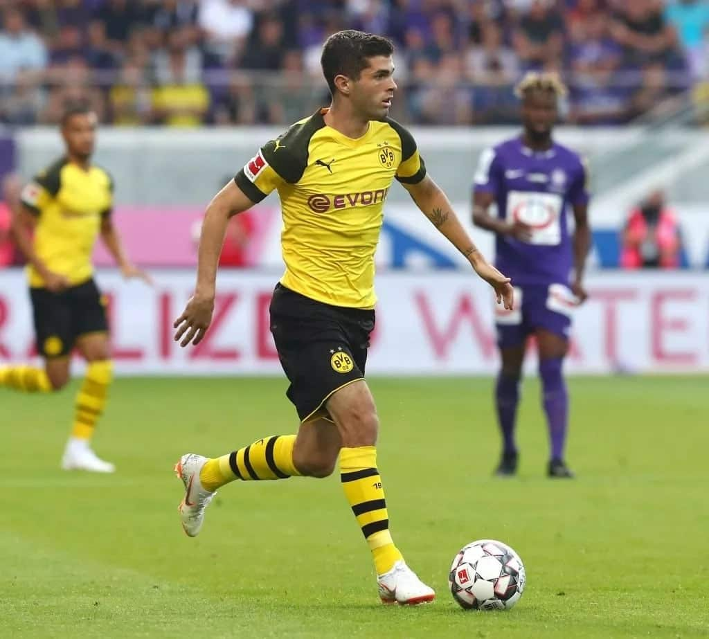 Real Madrid, Chelsea, Liverpool and Bayern all battle to sign Borussia Dortmund star Pulisic