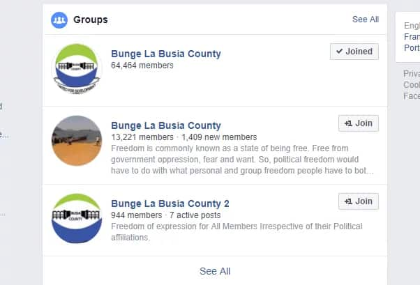 List of Facebook groups govt is monitoring ahead of elections