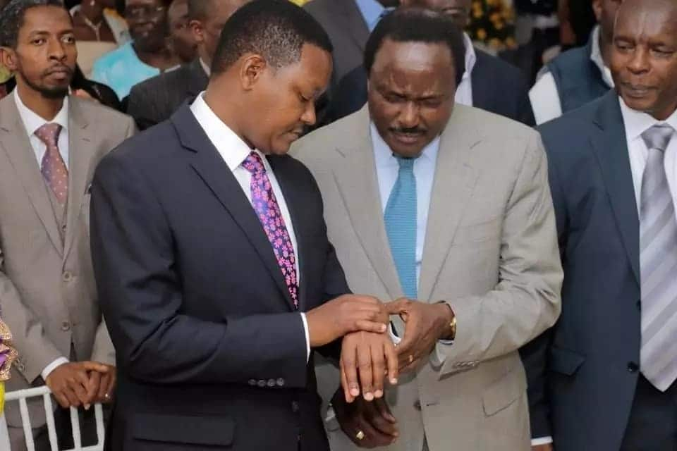 Alfred Mutua in rare meeting with Kalonzo a week after Wiper pledged to support Uhuru