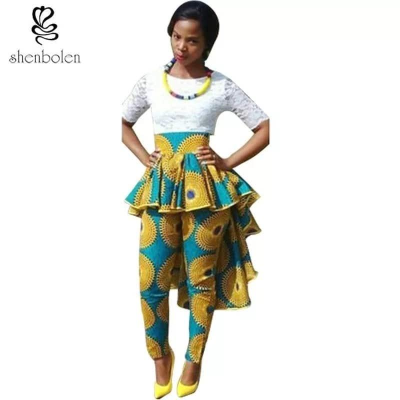 Kitenge pants designs