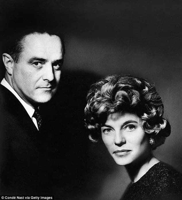 Eunice Kennedy Shriver is pictured with her husband Robert Sargent Shriver Jr. Photo: Getty Images/Condé Nast