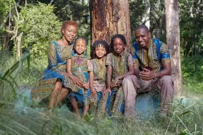Boniface mwangi family