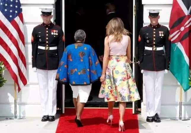 Margaret Kenyatta Melania Trump Melania and Margaret