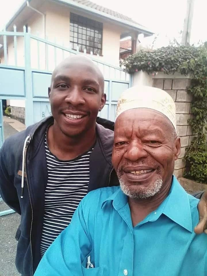 11 off the screen photos of Mother-in-law's star actor, Mwamba which you will fall in love with