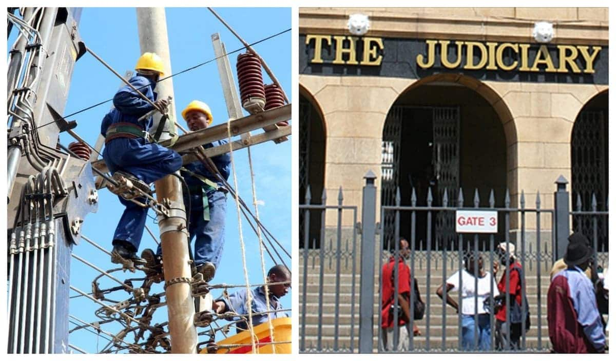 Kenyans protest angrily after Kenya Power buys drinks for Judiciary officers