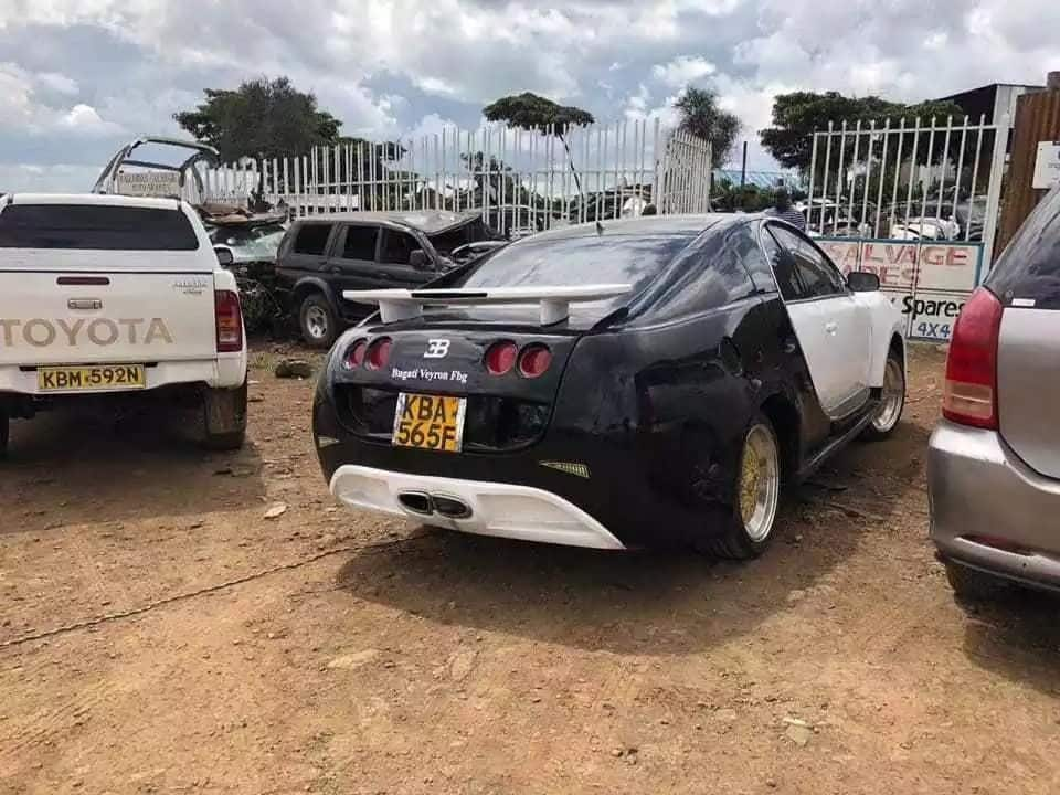 Kenyan man makes his own custom made Buggati and its the best thing you will see