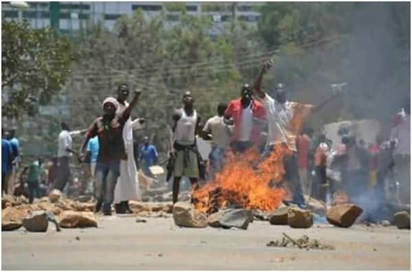 Chaos breaks out in parts of Kisumu after Supreme Court ruling even as NASA calls for calm