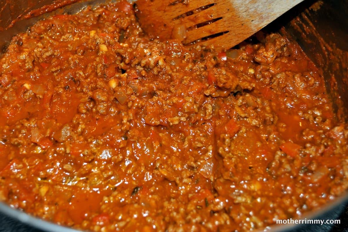 minced meat stew recipe