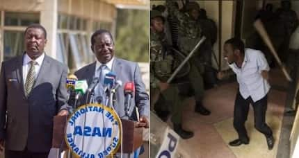 UoN students now suffering because of your violent politics -Raila told