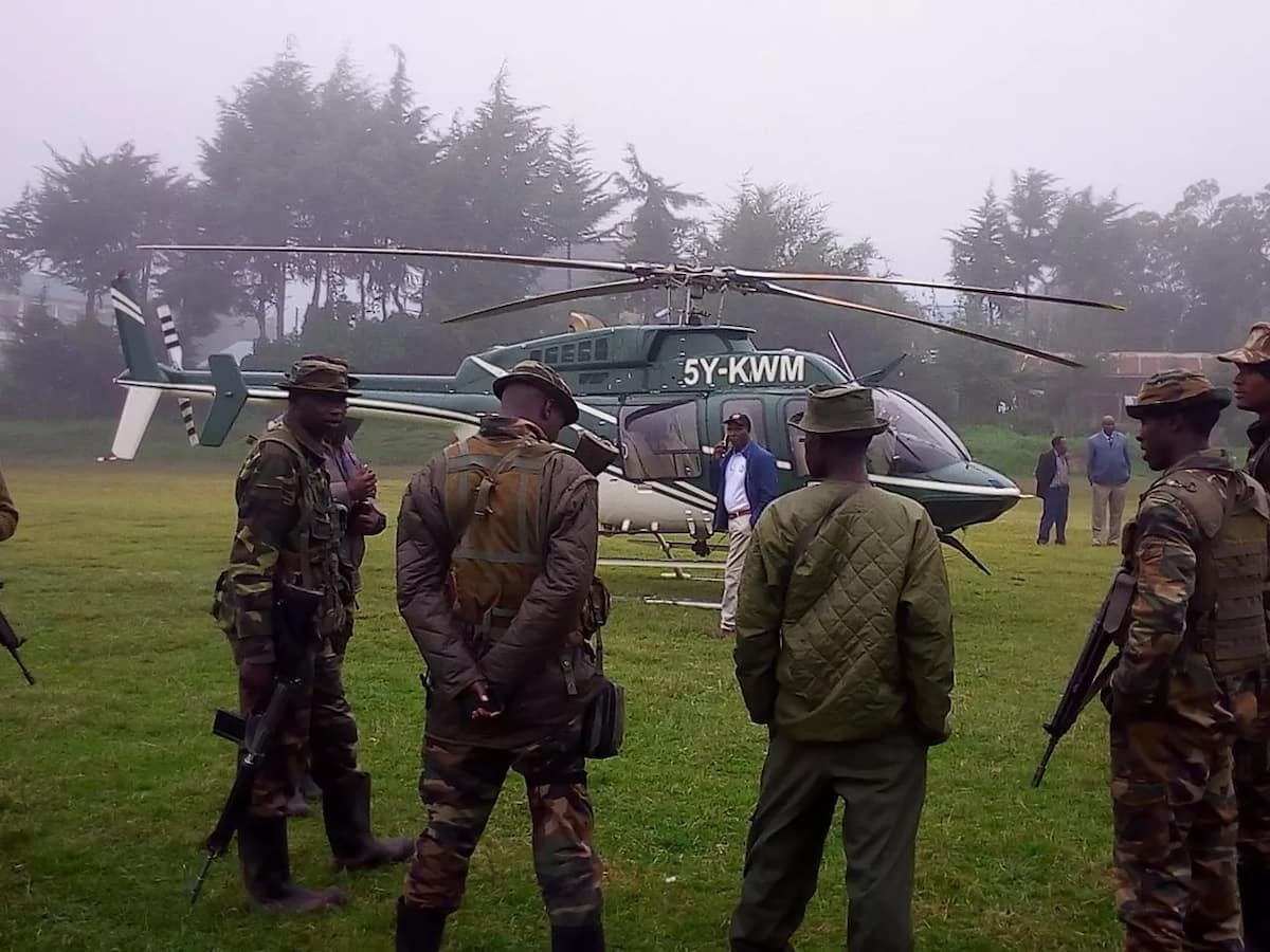 Relative of Kitale tycoon among passengers in missing plane