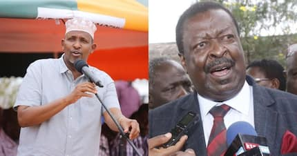 Musalia Mudavadi is biggest thief to ever be appointed as Kenya's finance minister - Aden Duale