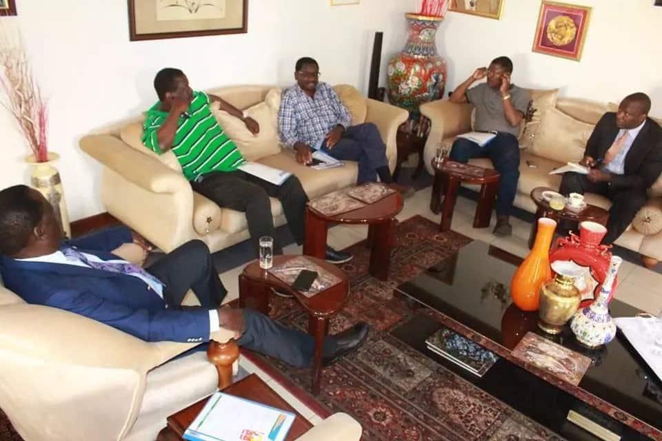 Raila Odinga atarajiwa kupeleka kmpeni zake kaunti ya Kisii anakotoka jaji mkuu,David Maraga