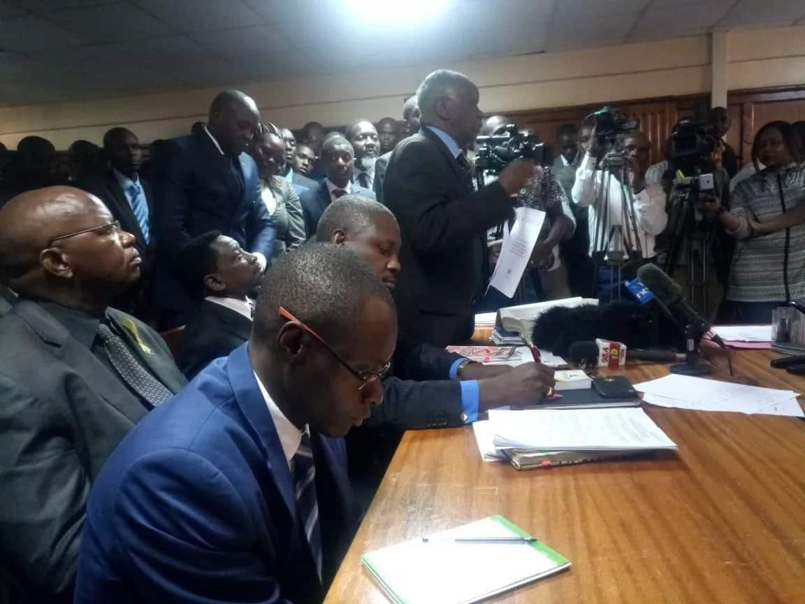 Miguna Miguna's lawyers thrown out of JKIA by police