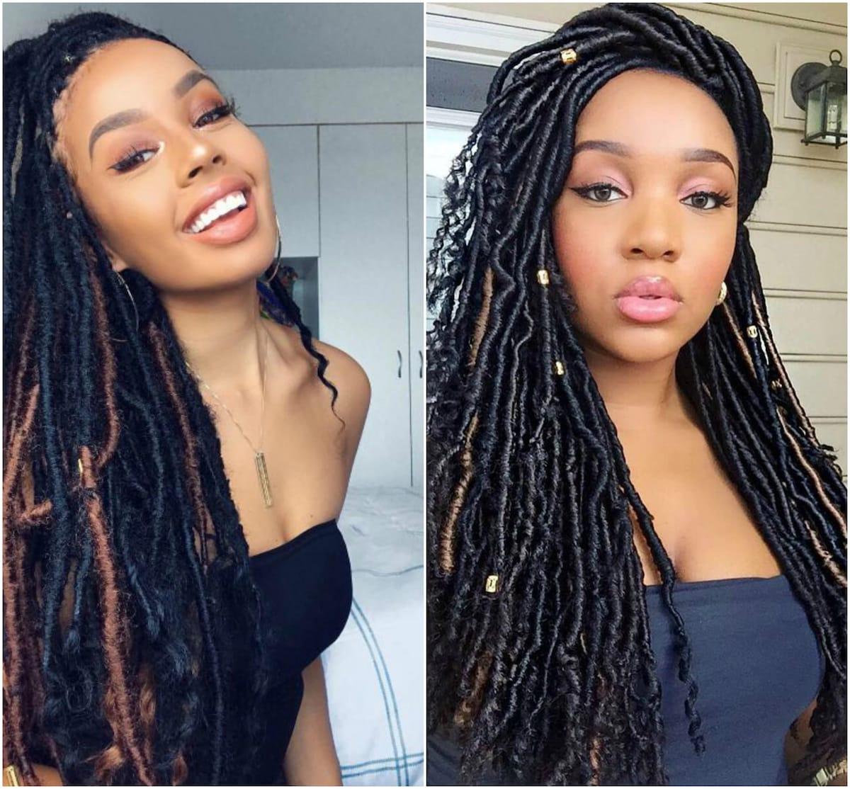 20 Best Soft Dreadlocks Hairstyles In Kenya Tuko Co Ke