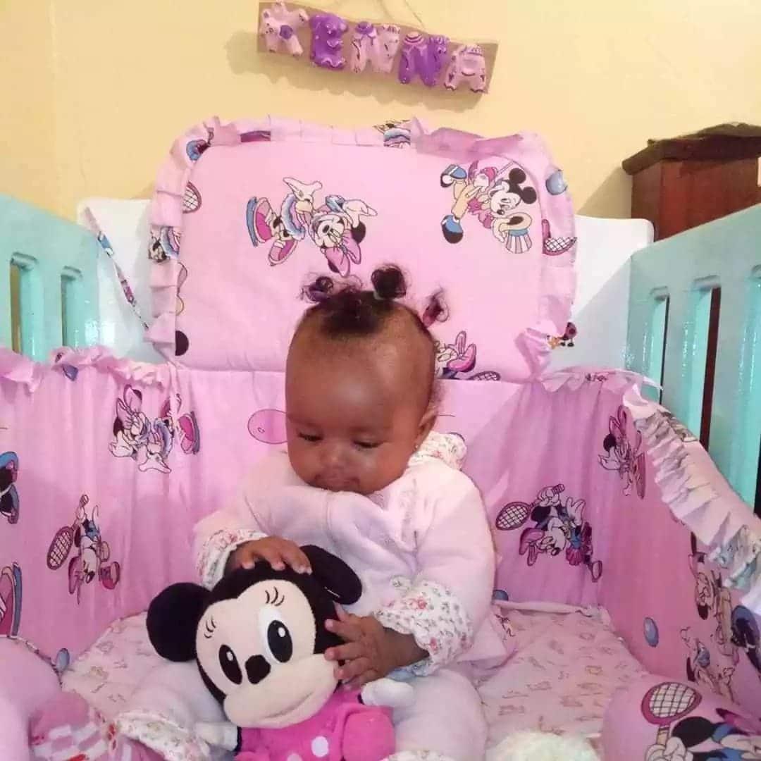 Tahidi High actor Sean unveils daughter 6 months after her birth