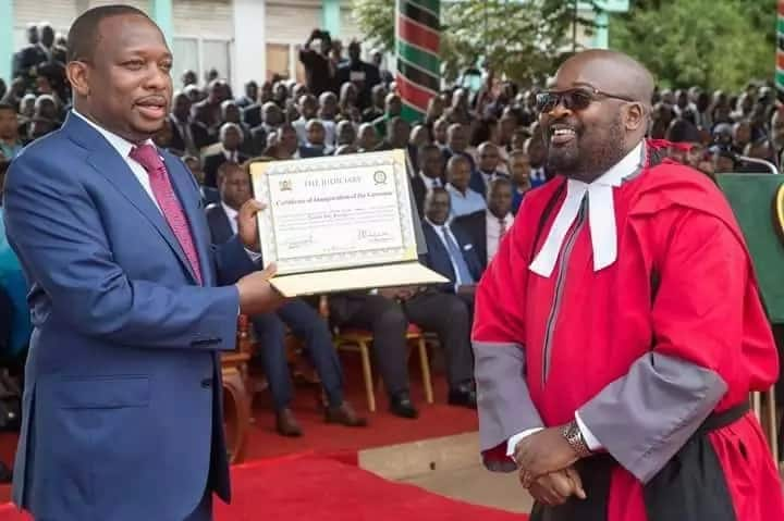 Structure and functions of county government in Kenya