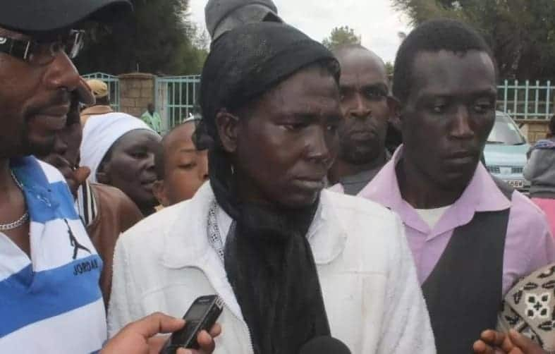 Relatives throw kicks and blows at each other at Nanyuki mortuary over kin's body