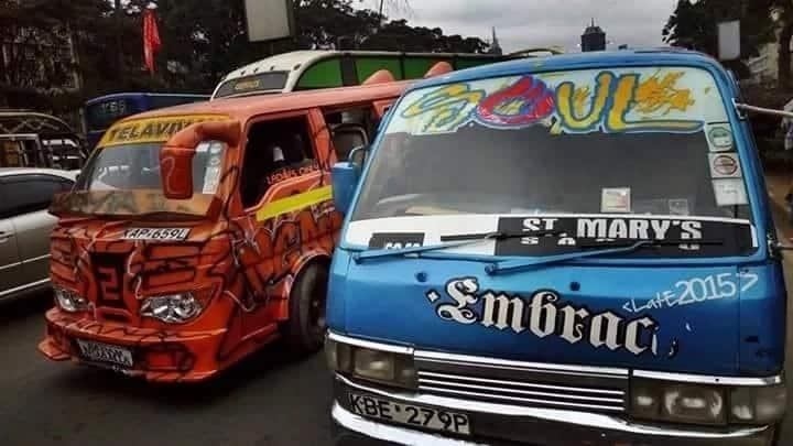 Latest matwana matatu culture (photos & videos)