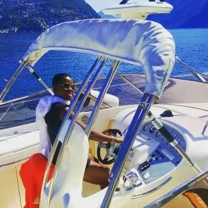 Kenya's richest singer Akothee shows off her sleek, new KSh 15 million German machine