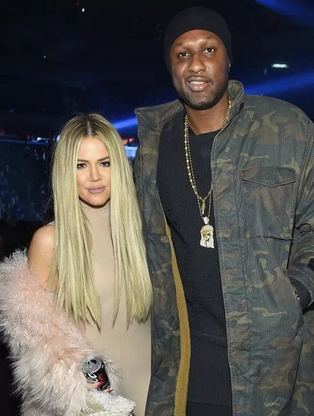 Khloe and Lamar: youngest Kardashian sister's story of love