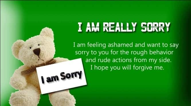 Sweet am sorry messages Sorry messages to friend Sorry messages for husband