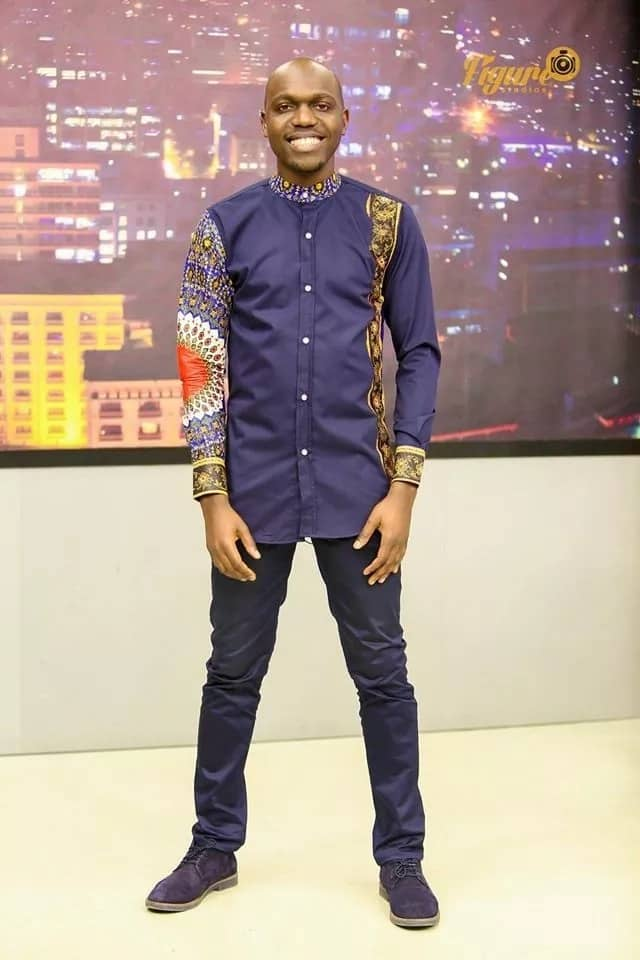Latest men African wear styles from celebrities in Kenya