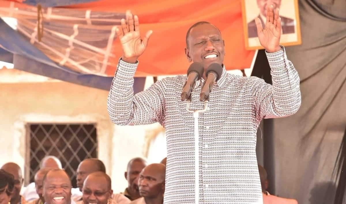 William Ruto dismisses Raila's referrendum calls, claims was never part of handshake deal with Uhuru