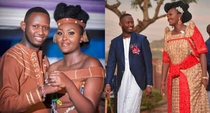 Actor Daddie Marto weds beautiful Ugandan lover in colourful wedding