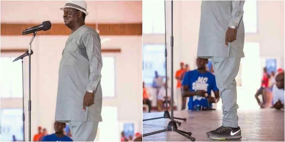 Raila murders fashion horribly in his tour of the coast region