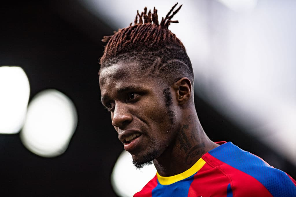 Crystal Palace's Wilfried Zaha receives death-threats following Arsenal draw