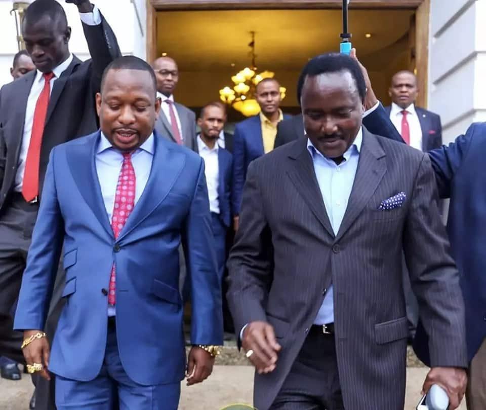 Kalonzo heaps praise on Mike Sonko's leadership, asks Nairobians to vote him in again