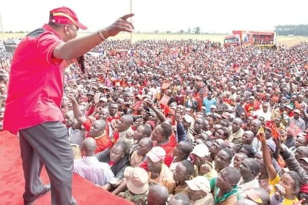 62% ya Wakenya watampigia kura Uhuru endapo atatunukiwa hatamu nyingine - utafiti wa TUKO
