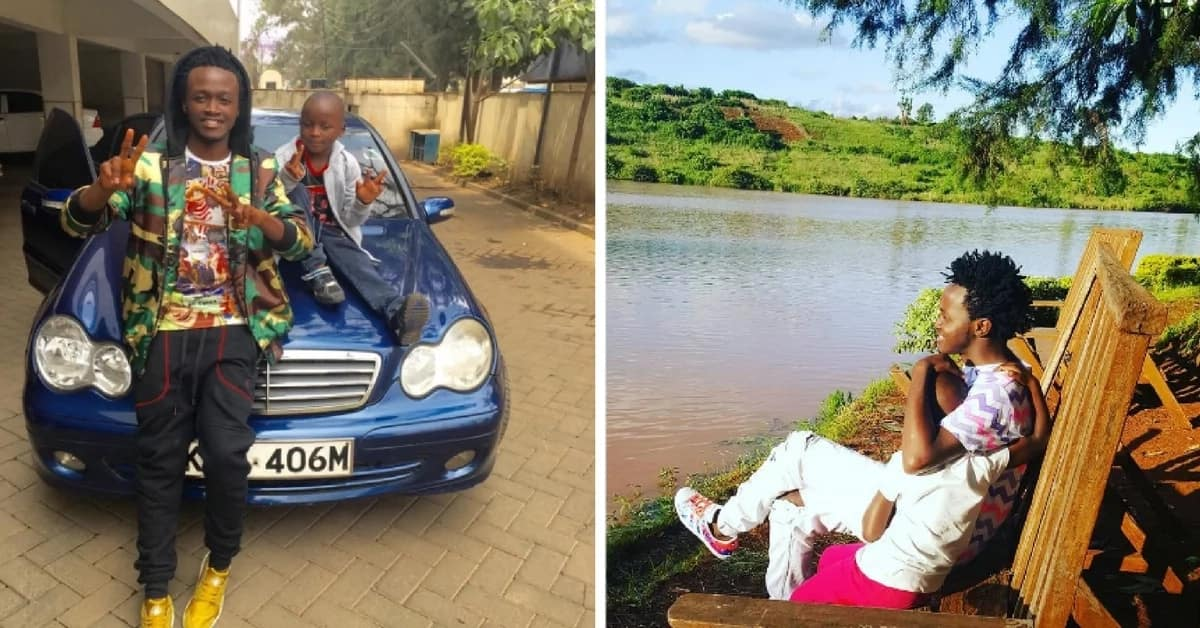 Bahati is proof that young people can be great parents too