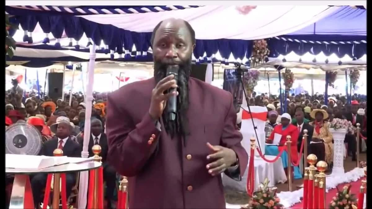 Prophet Owuor responds to claims his driver died after seeing him praying to a snake