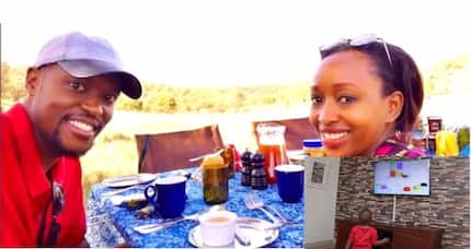 A view inside ex-TV screen siren Janet Mbugua's living room