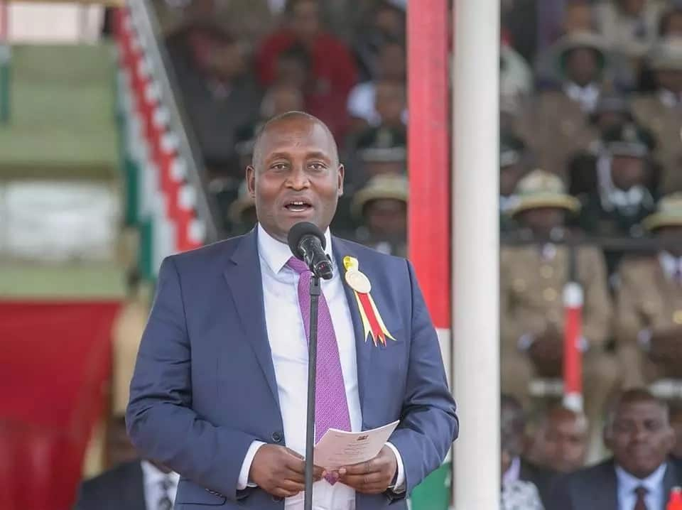 Did the late Nyeri governor Wahome Gakuru predict the manner in which he'd lose his life?