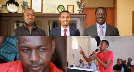 Raila Odinga snubs his 'best friend' Mohamed Ali and endorses his bitter rival
